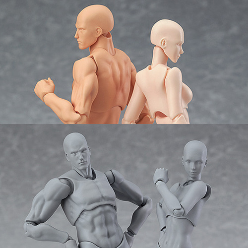 맥스펙토리,피그마,figma archetype next:he flesh color ver,figma archetype next:he gray color ver